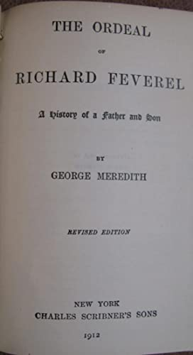 The Ordeal of Richard Feverel: Meredith, George