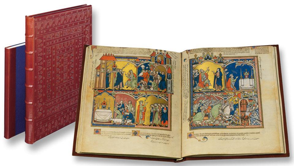 DIE KREUZRITTERBIBEL - THE MORGAN CRUSADER'S BIBLE