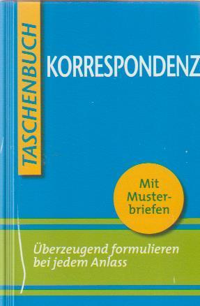 9783817469581 Korrespondenz Mit Musterbriefen Menzel Wolfgang W