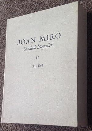 Miro Lithographs Vol 2, Deluxe copy +2: Joan Miro