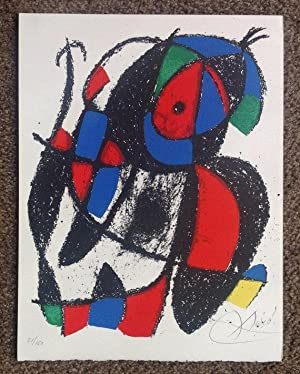 Miro Lithographs Vol 2, Deluxe copy +2 pencil signed & Numbered Lithographs: Joan Miro