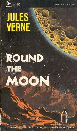 ROUND THE MOON: Verne Jules