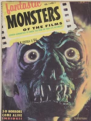 FANTASTIC MONSTERS OF THE FILMS Volume 1 Number 2: Haydock Ron (Editor)
