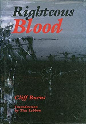 Righteous Blood - SIGNED: Cliff Burns