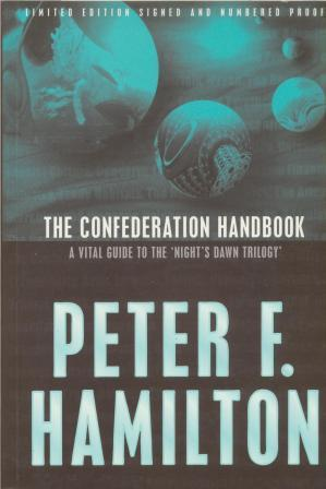 THE CONFEDERATION HANDBOOK - signed limited edition proof copy: Hamilton peter F