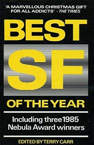 BEST SF OF THE YEAR: Carr terry (editor)