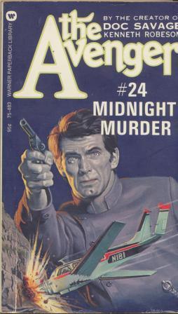 THE AVENGER 24 - Midnight Murder: Robeson kenneth