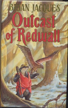 OUTCAST OF REDWALL - signed: Jacques Brian