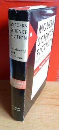 MODERN SCIENCE FICTION: Its Meaning and Its Future: Bretnor Reginald (editor)