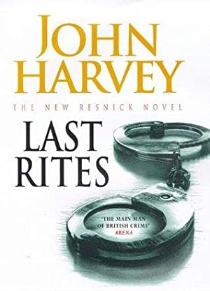 LAST RITES - signed copy: harvey John
