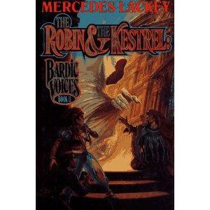 THE ROBIN AND THE KESTREL - signed copy: Lackey Mercedes