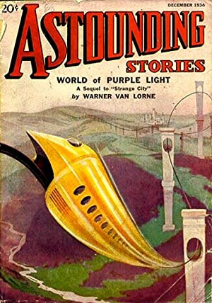 ASTOUNDING STORIES december 1936: Tremaine orlin (editor)