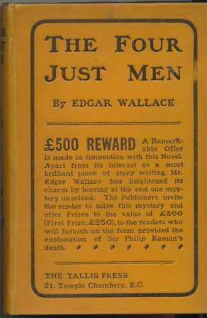 THE FOUR JUST MEN: Wallace Edgar