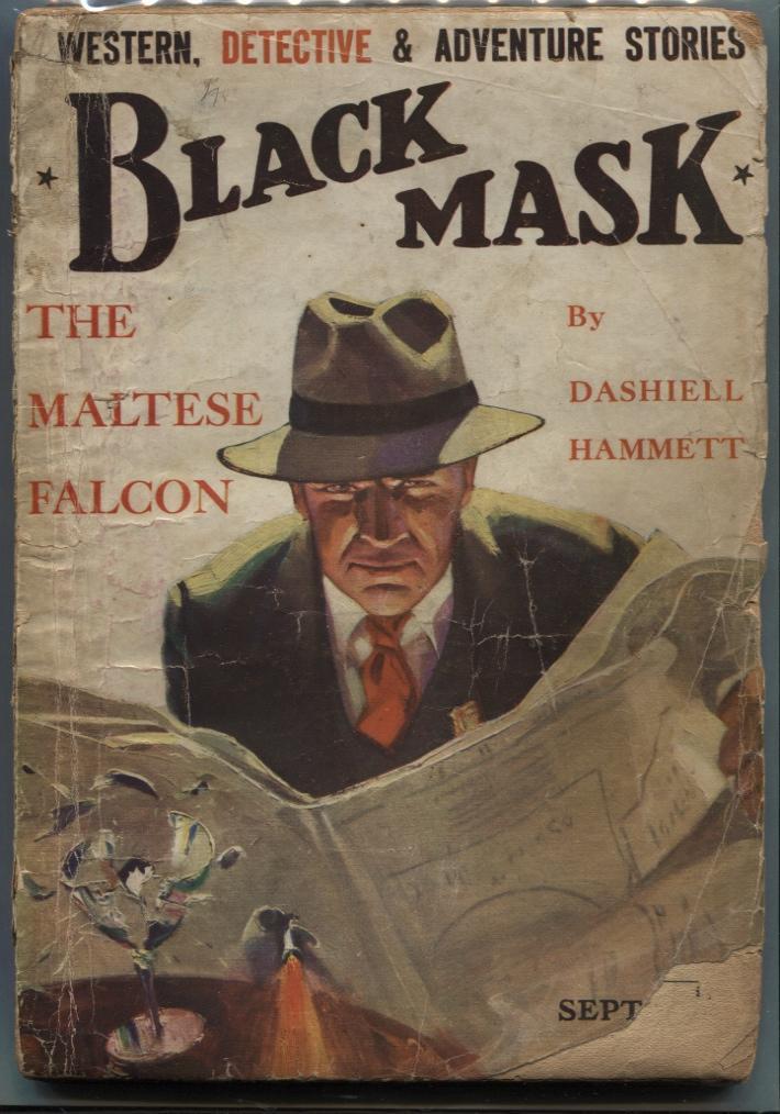 Image result for The Maltese Falcon original paperback cover