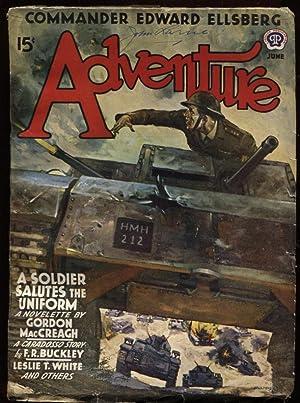"Adventure 1941 June. ""A Soldier Salutes the: MacCreagh, Gordon."