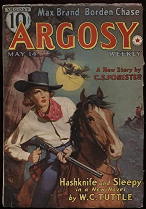 """Argosy Weekly 1938 May 14. """"The Brand: Forester, C. S."""