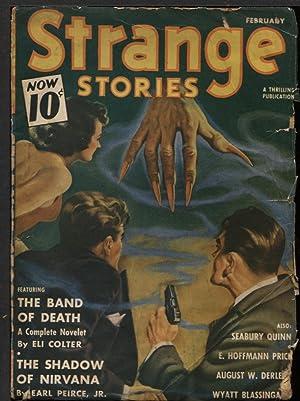 Strange Stories 1941 February.