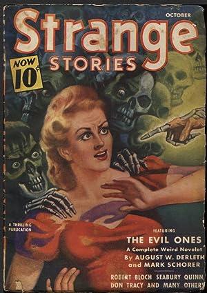 Strange Stories 1940 October.