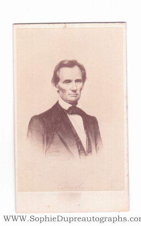 Unsigned Carte De Visite Photo By Mason Abraham 1809 1865 16th