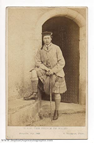 Fine unsigned Carte-de-visite Portrait Photograph, by S. Thompson, (1841-1910, King of Great ...