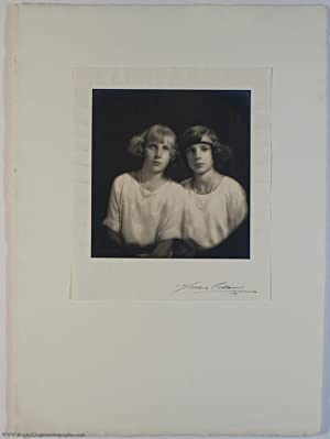 Exceptional portrait photograph, unsigned, by Marcus Adams, (1909-2002) and MARIA CRISTINA (1911-...