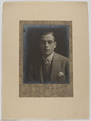Fine Unsigned Portrait Photograph by Sybil Clay and Stella Caffyn, signed in pencil by the photog...
