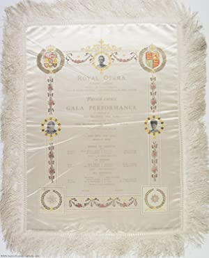 Exceptional Silk Programme of the Gala at: EDWARD VII