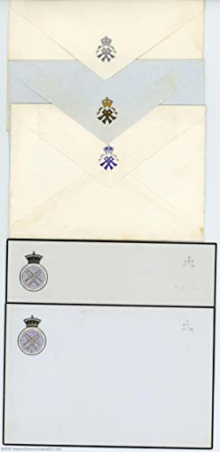 4 items of her monogrammed stationery as: ALEXANDRA