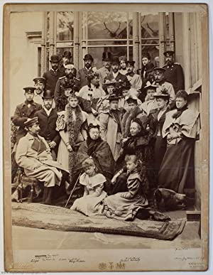 Magnificent Group Photograph, by E. Uhlenhuth of Coburg, unsigned, (1819-1901, Queen of Great ...