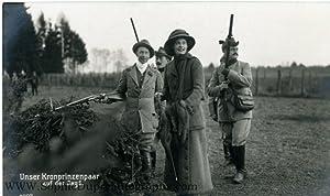 Unsigned Portrait Postcard Photograph, (Friedrich Viktor August: WILHELM