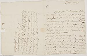 Autograph Letter Signed 'Rich: Mynshull' to his near relation Edward BLOUNT, (Richard, d. ...