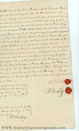 Collection of 12 documents, 1764-1803, from the: CITY OF LICHFIELD