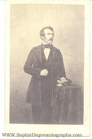 Original unsigned carte-de-visite photo by J.H.Kay, (David, 1813-1873, Scottish Missionary & ...