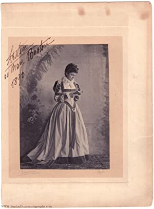 Fine signed Portrait Photograph by Mullins of Ryde, Isle of Wight, (1870-1948, Princess of Schles...