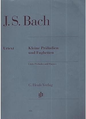 Keine Präludien und Fughetten (piano): J.S.Bach