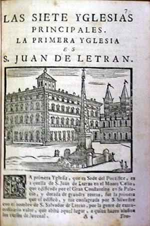 COSAS MARAVILLOSAS DE LA SANTA CIUDAD DE ROMA, en donde se trata de las Yglesias, Estaciones, ...