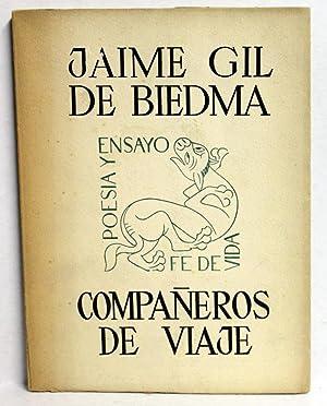 COMPAÑEROS DE VIAJE.: GIL DE BIEDMA,