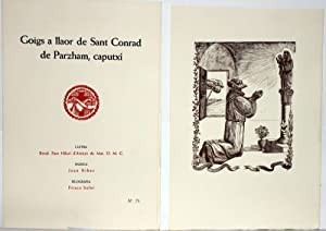 PRIMER LLIBRE DE GOIGS.: HILARI, Pare d'Arenys de Mar.
