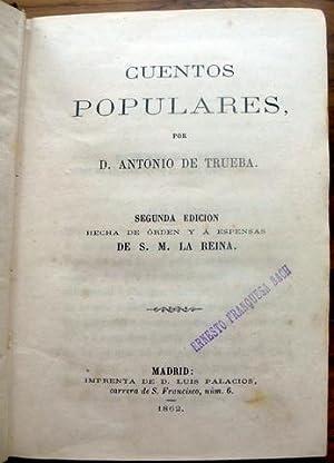 CUENTOS POPULARES.: DE TRUEBA, D.