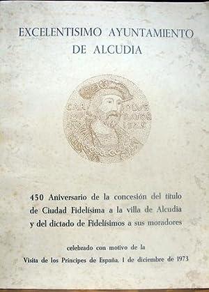 LA CIUDAD FIDELISIMA DE ALCUDIA AL EMPERADOR