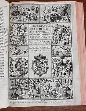 HISTORIA GENERAL DE LOS HECHOS DE LOS: HERRERA, Antonio de.