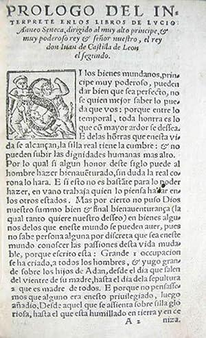 LIBROS DE LUCIO ANNEO SENECA, EN QUE: SÉNECA, Lucio Anneo.