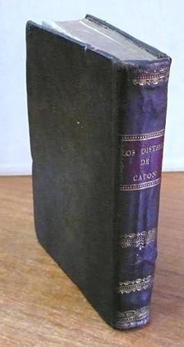 LOS DISTHICOS DE CATON CON ESCOLIOS DE ERASMO: traducidos y ampliados por don Leon de Arroyal.: ...