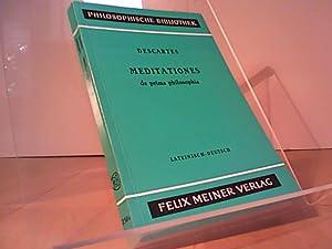 Taschenbuch. Meditationes de prima philosophia. Meditationen über: Descartes, René: