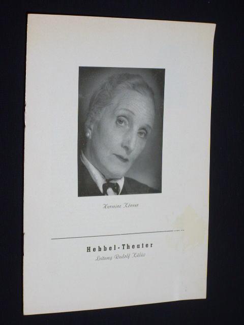 Hebbel-Theater Berlin 1953. Programmheft GESPENSTER von Henrik: Hebbel-Theater (Hg.); Henrik