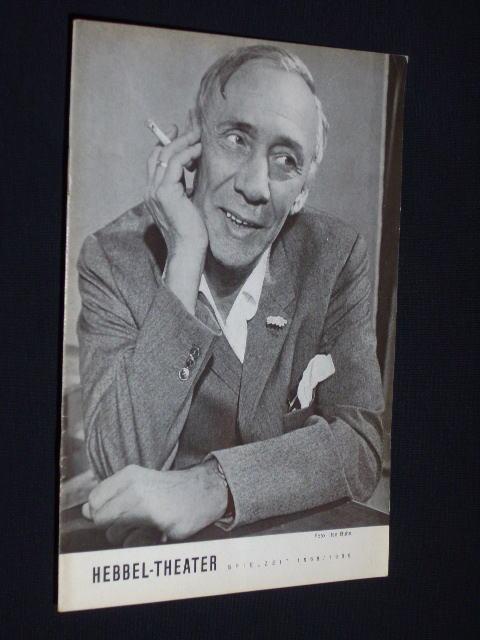 Programmheft IV Hebbel-Theater 1969. Uraufführung DAS GELD: Hebbel-Theater (Hg.), Leitung: