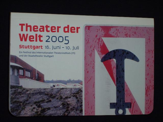 Programmbuch Theater der Welt 2005, Stuttgart 16.: Theater der Welt