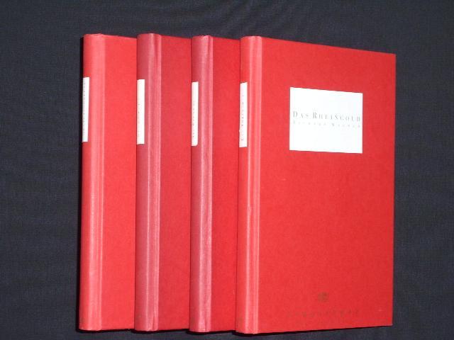Programmbücher Nr. 27, 10, 17, 24 Staatsoper Unter den Linden Berlin 1993 bis 1996. DER RING DES NIBELUNGEN - DAS RHEINGOLD / DIE WALKÜRE / SIEGFRIED