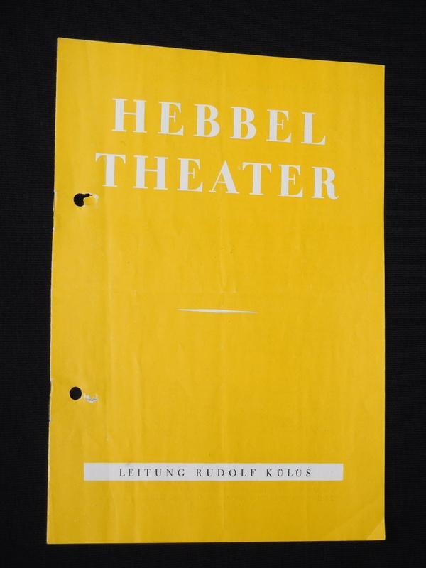 Programmheft Hebbel-Theater Berlin um 1965. VERWANDTE SIND: Hebbel-Theater Berlin, Leitung: