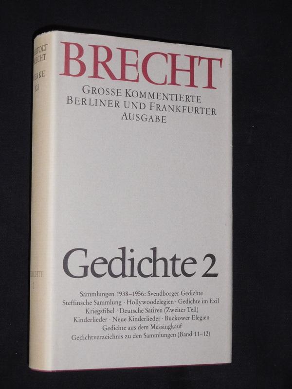 Gedichte 2 Sammlungen 1938 1956